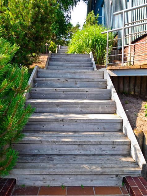 treppe selber bauen anleitung gartentreppe aus holz selber bauen 187 anleitung in 4 schritten