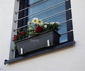 Balkonmarkisen Ohne Bohren : blumenkastenhalterung ohne bohren f r fensterb nke bis ~ Watch28wear.com Haus und Dekorationen