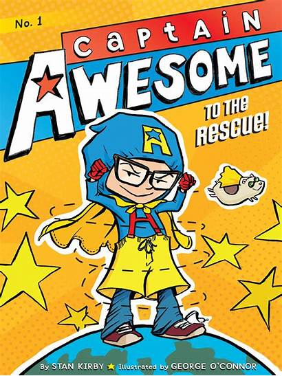 Captain Awesome Rescue Library Website Stan Kirby