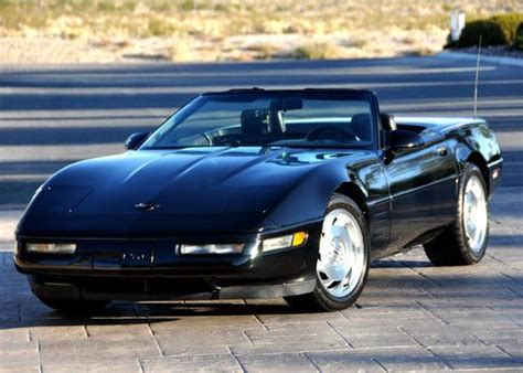 auto air conditioning service 1993 chevrolet corvette parking system purchase used 1993 corvette convertible triple black 40th anniversay c4 in pahrump nevada