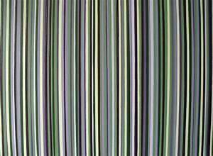 Original Modern Stripes Decor Green And Purple Wall Art