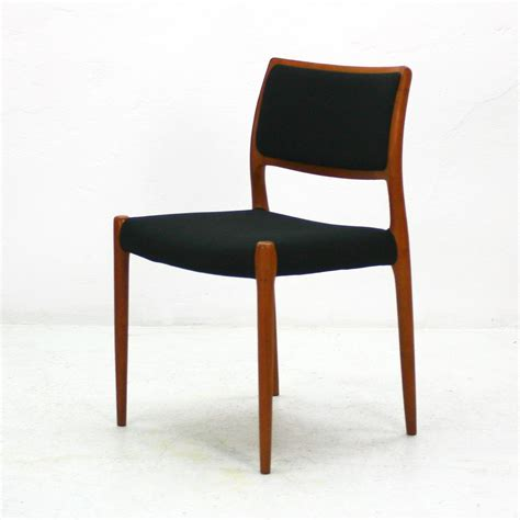 mid century l mid century model 80 teak chair by niels otto