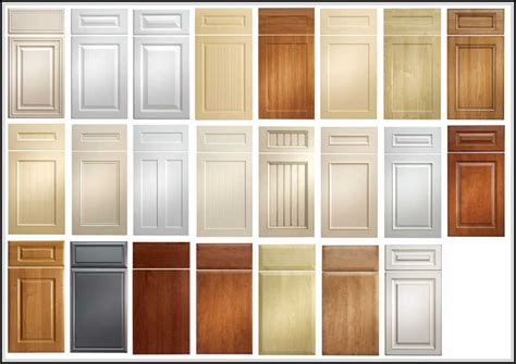 cabinet door styles names kitchen cabinet door styles and shapes to select home