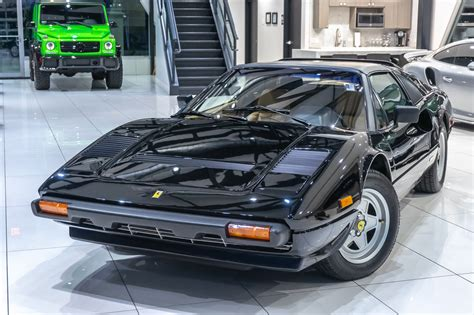 Damit erreichte der ferrari 308 eine höchstgeschwindigkeit von knapp über 250 stundenkilometer. Used 1983 Ferrari 308 GTS Quattrovalvole 2dr Targa For Sale (Special Pricing) | Chicago Motor ...
