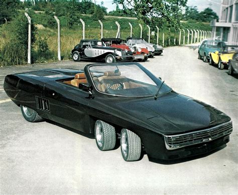 The Panther 6 Was A Crazy 6 Wheeled Uk Sports Car 95 Octane