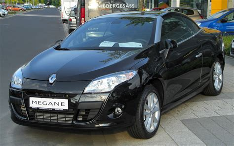 megane renault 2010 2010 renault megane iii cc pictures information and