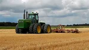 Tracteur Articul U00e9 John Deere 8760 Avec Chisel Morris
