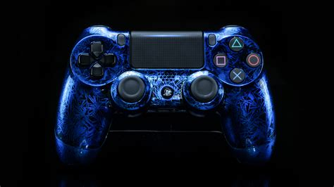 ps controller crackling blue