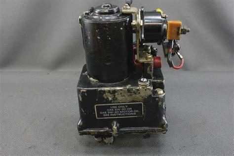 mercruiser pre alpha   power trim tilt pump motor