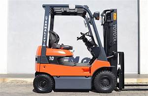 Used Toyota 7fb10 Electric Forklift-2443