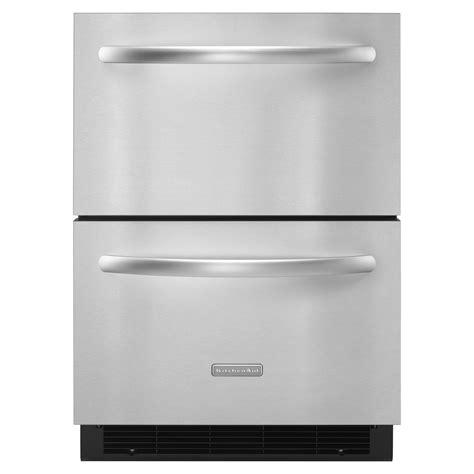 kitchenaid refrigerator drawers kitchenaid kddc24rvs 5 1 cu ft drawer