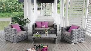 Salon Rotin Exterieur : mobiliers de jardin le blog du design ext rieur mobiliers de d corationle soleil reste les ~ Teatrodelosmanantiales.com Idées de Décoration