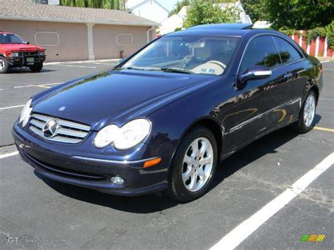 2003 Capri Blue Metallic Mercedes-benz Clk 320 Coupe