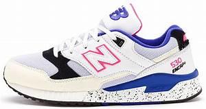 New Balance 530 Encap scarpe ginnastica in bianco, blu e