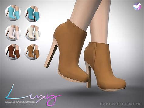 LuxySims: Eris Boots [RECOLOR]