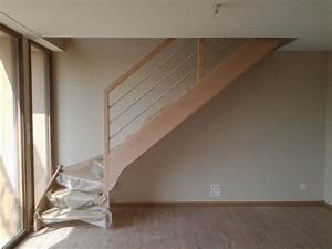Escalier Quart Tournant Pas Cher : escalier vannes gallery of beton with escalier vannes ~ Premium-room.com Idées de Décoration