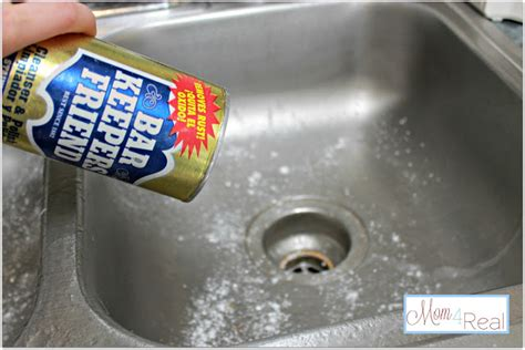 sink drain smell cleaner how to clean your stainless steel kitchen sink mom 4 real