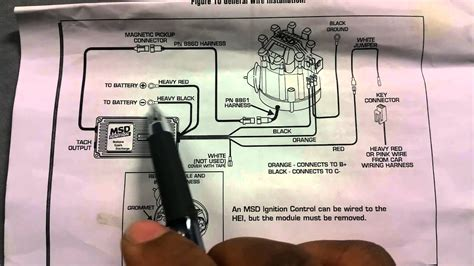 How Install Msd Ignition Box Hei Youtube