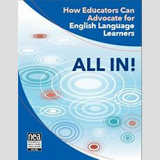 All In! How Educators Can Advocate For English Language Learners  Colorín Colorado