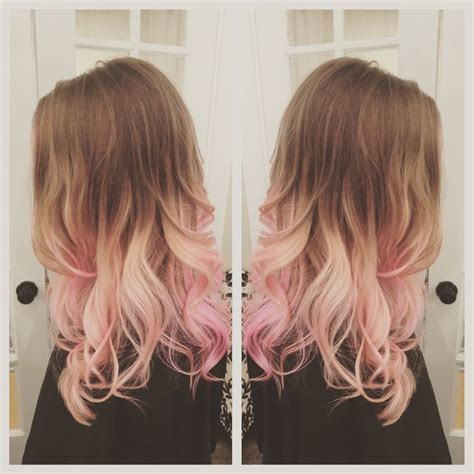 Pink Hair Balayage Ombré Hair Before And Afters Dyed