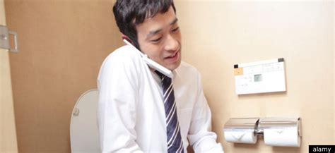 toilet texting bathroom browsing   rise study