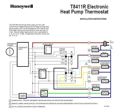 goodman heat thermostat wiring diagram free wiring diagram