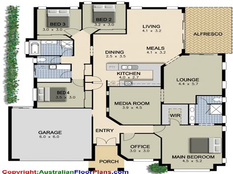 house floor plans ranch 4 bedroom ranch house plans 4 bedroom house plans modern