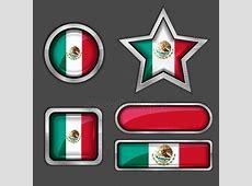 Mexico circle flag Stock Vectors, Royalty Free Mexico