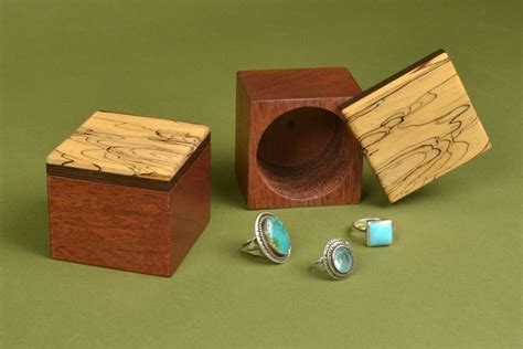 wooden ring box diy easy woodworking gift ideas