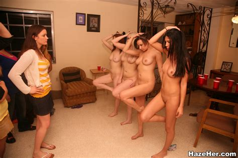 Hot Naked College Girls Are Forced To Have Xxx Dessert