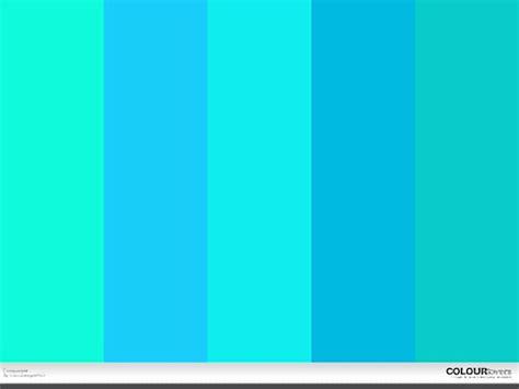 warna turquoise  tampilan rumah minimalis