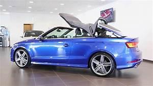 Audi A3 Prix Occasion : audi a3 cabriolet occasion 2 0 tdi 150 s line s tronic 6 bleusepang grise youtube ~ Gottalentnigeria.com Avis de Voitures