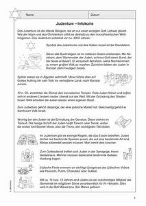 Arbeitsblätter Judentum Grundschule 15 Arbeitsbl Tter