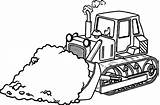 Bulldozer Coloring Construction Printable Equipment Dozer Tools Sand Drawing Lego Truck Colouring Heavy Draw Monster Getcolorings Vehicles Getdrawings Simple Tool sketch template