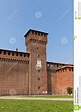 Bona Of Savoy Tower Of Sforza Castle (XV C.) In Milan ...