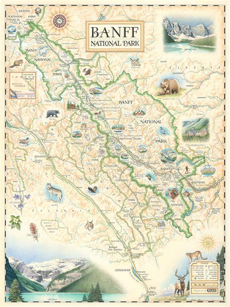 xplorer maps announces  release  banff national park
