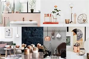 Deco Couleur Cuivre : 5 tendances design pour cr er des maisons au style parisien ~ Teatrodelosmanantiales.com Idées de Décoration