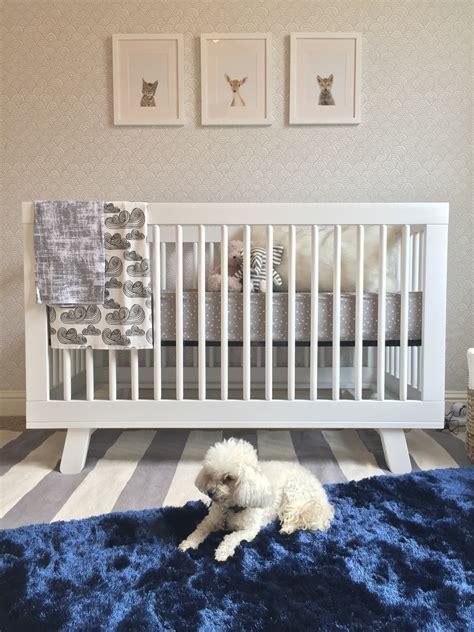 modern blue grey  gold nursery project nursery