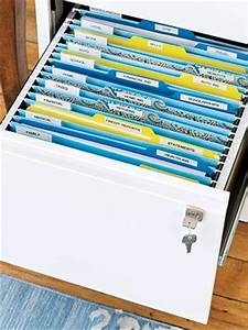 the smart ways to store important papers organizing With organizing documents at home
