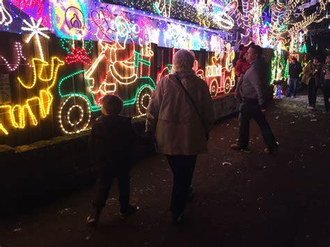whole house christmas lights christmas lights at melksham treading on