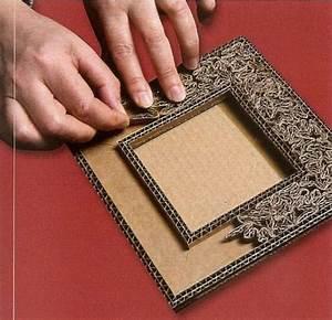 Fabriquer Un Cadre Photo : note useful cardboard base for many crafts ~ Dailycaller-alerts.com Idées de Décoration