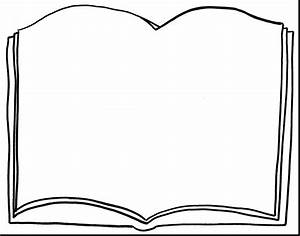 93+ Blank Book Page Clipart - Book Clipart Open Text 10 ...