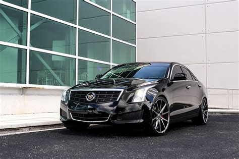 Lowered Cadillac Ats by Customized Cadillac Ats Exclusive Motoring Miami Fl