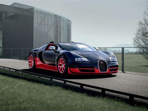 Bugatti Veyron Black Red Wallpaper
