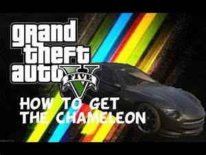 GTA 5: HOW TO GET THE CHAMELEON (Out Of Stock Car) - YouTube