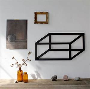 Diy project dimensional geometric wall art design sponge