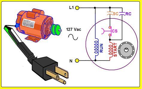 como se conecta un motor monofasico de 5 cables instruklrote