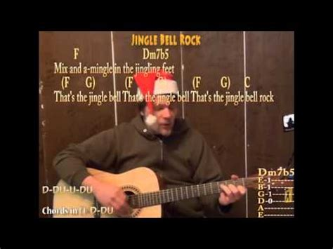 Jingle Bell Rock Guitar Cover by Jingle Bell Rock Christmas Strum Chord Guitar Cover