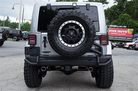aev jeep rear bumper 10th anniversary jeep rubicon billet