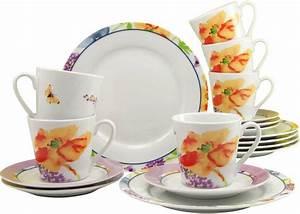 Creatable Geschirr Nachkaufen : creatable kaffeeservice porzellan happy day 18 teilig online kaufen otto ~ Buech-reservation.com Haus und Dekorationen